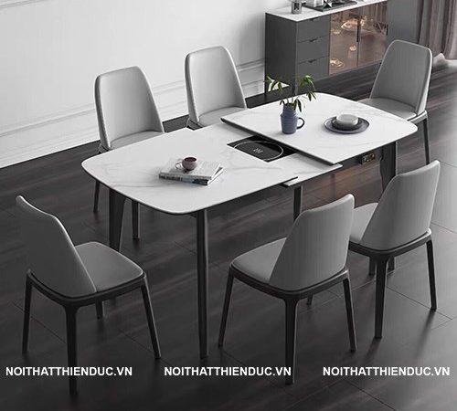 Top các mẫu bàn ăn thông minh hot nhất trên thị trường nội thất 2020